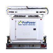 Propower Solar Hybrid Commercial Generator 3