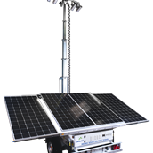 Prolectric Prolight Solar Lighting Tower 3