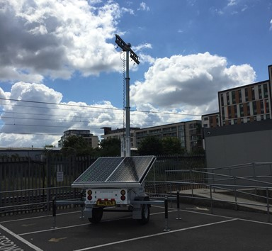 ProLight Rental in Urban Works with Carillion Rail