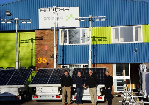 Boo Boo Plant Hire Buys ProLight | Prolectric
