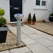 St Bollard In Residential Property