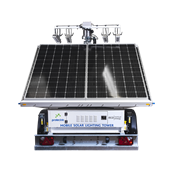 Prolectric Prolight Solar Lighting Tower 4