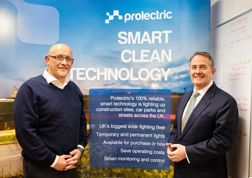 International Trade Secretary visits Factory | Prolectric