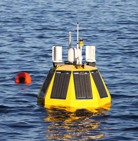 Microturbines On Bouy